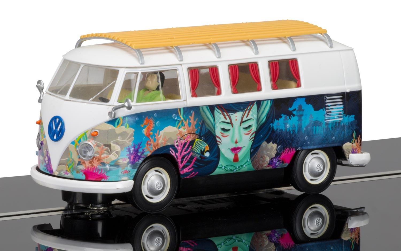 3891  Volkswagen T1 Camper Van, Scalextric