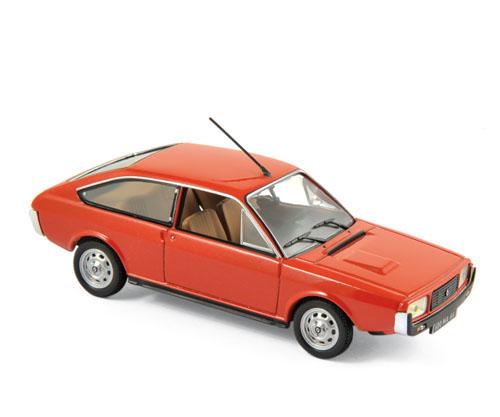 511504  Renault 15 TL 1976, rood, Norev