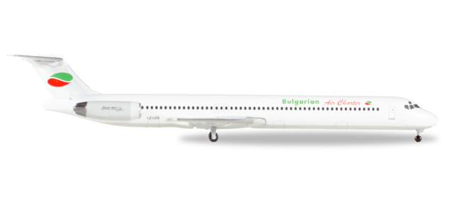 "530392    McDonnell Douglas MD-82 ""Bulgarian Air Charter"", Herpa Wings"