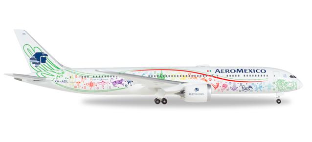 "530415  Boeing 787-9 ""Aeromexico Quetzalcóatl"", Herpa Wings"