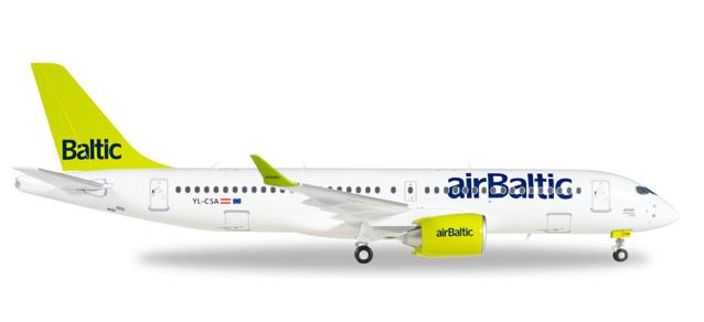 "558457  Bombardier CS300 ""Air Baltic"", Herpa Wings"