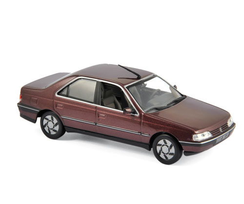 474511  Peugeot 405 SRI 1991, Alhambrarood, Norev