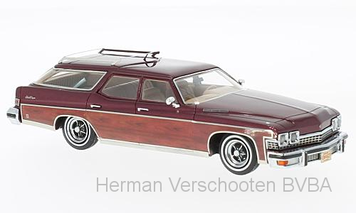 44627    Buick Le Sabre Estate Wagon met. donkerrood, Neoscale Models