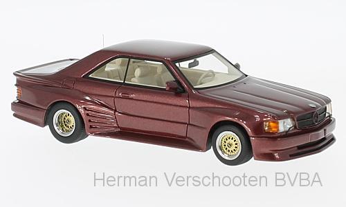 46601  Mercedes 500 SEC Koenig Specials, rood, Neoscale Models