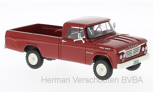 46715    Dodge W200 Power Wagon, rood, Neoscale Models