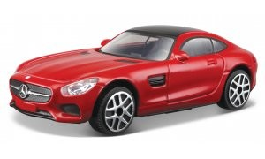 18-30321Y  Mercedes-Benz AMG GT, rood, Bburago