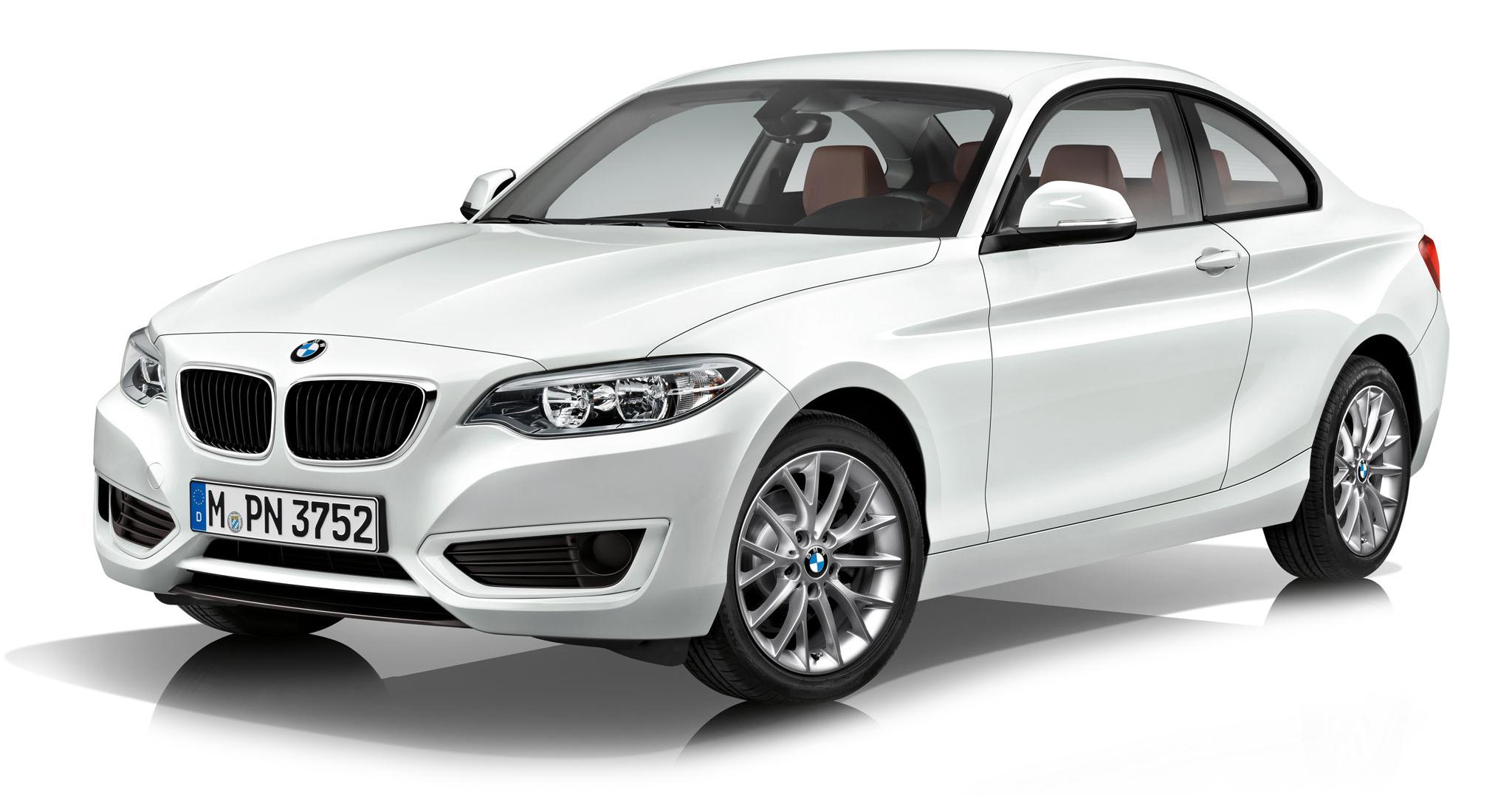 80422336869  BMW 2 Serie (F22) Coupé 2014, wit, Kyosho