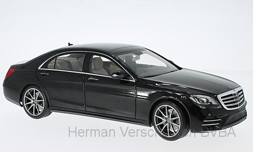 B66961273  Mercedes-Benz S-Klasse V222 2017, zwart, Norev