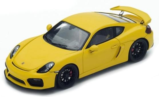 S4939  Porsche Cayman GT4 2016, geel, Spark