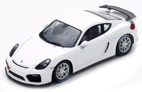 S5200  Porsche Cayman GT4 Clubsport 2016, wit, Spark