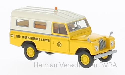 "13780  Land Rover 109 ""ANWB"" (NL), Brekina"