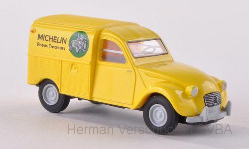 "14148  Citroen Kastenente ""Michelin"", Brekina"