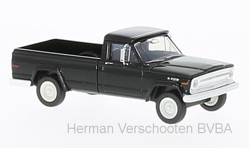19807  Jeep Gladiator 1967, zwart, Brekina