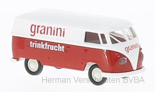 """32688  VW Kasten T1b """"Granini"""", Brekina"""