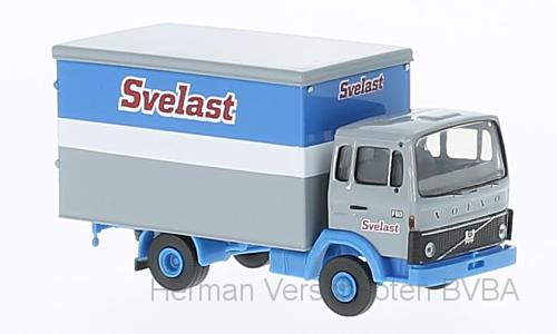 "34752  Volvo F613 Koffer ""Svelast"", Brekina"