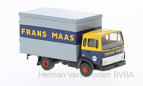"34802  DAF F 900 Koffer ""Frans Maas"", Brekina"