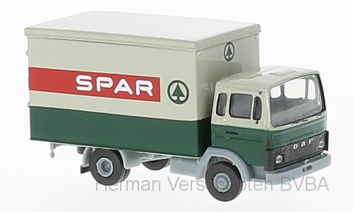 "34803  DAF F900 Koffer ""Spar"", Brekina"