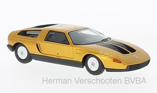 47020  Mercedes C111-IID, met. donkeroranje, Neoscale Models