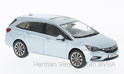 OC10920    Opel Astra K Sports Tourer, Diamantblauw, Iscale