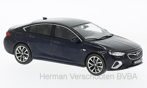 OC10924  Opel Insignia Grand Sport, Diepzeeblauw, Iscale