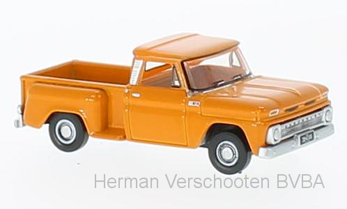 87CP65002    Chevrolet Stepside Pick-Up 1965, Oranje, Oxford