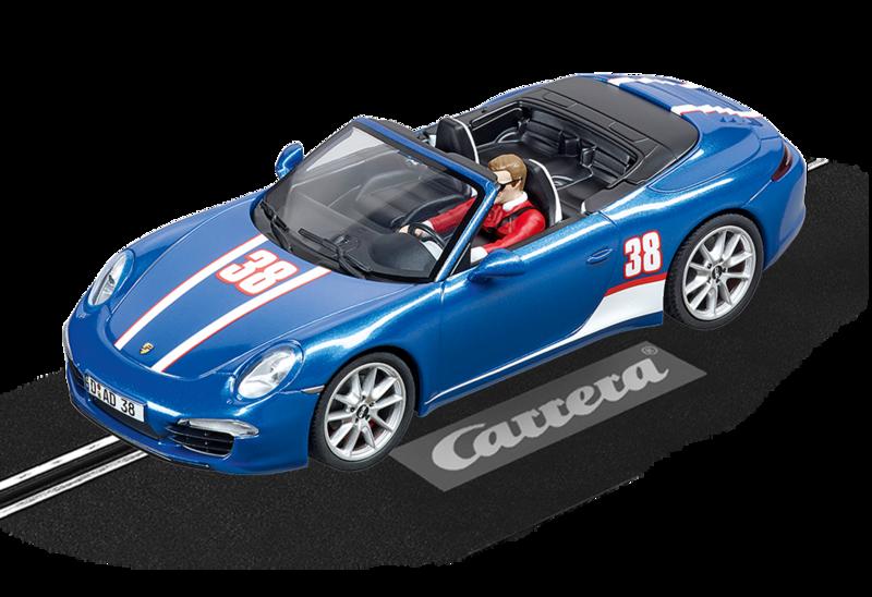 """30789  DIG132 Porsche 911 Carrera S Cabriolet """"No.38"""", Carrera"""