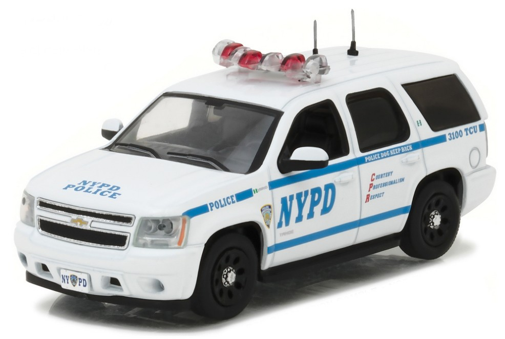 "86082    2012 Chevrolet Tahoe ""NYPD"", Greenlight"
