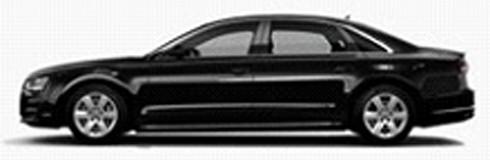 501.17.081.32  Audi A8 L 2017, zwart, Spark