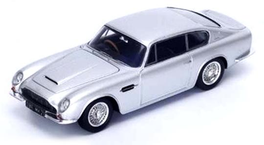 S2428  Aston Martin DB6 MkII 1969, zilver, Spark