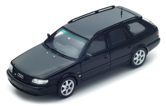 S4884  Audi S6 Plus Avant 1994, zwart, Spark