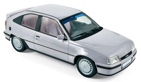 183613  Opel Kadett E GSi 1987, zilver, Norev