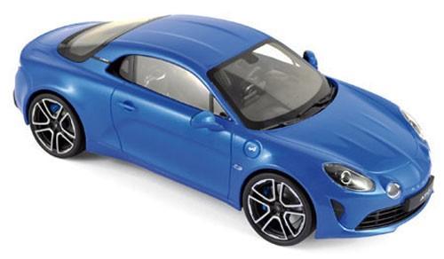 185148  Alpine A110 Première Edition 2017, blauw, Norev