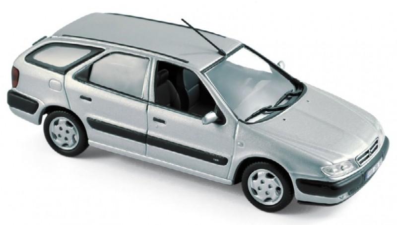 154306  Citroën Xsara Break 1998, Quartz grijs, Norev