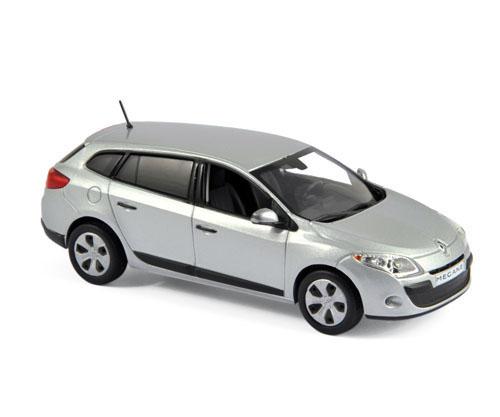 517646  Renault Mégane Estate 2010, Platine zilver, Norev