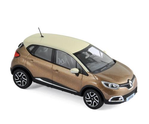 517774  Renault Captur 2013, bruin & ivoor, Norev