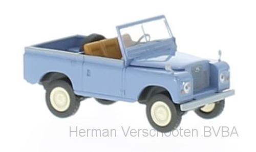 13851  Land Rover 88, taubenblau, Brekina