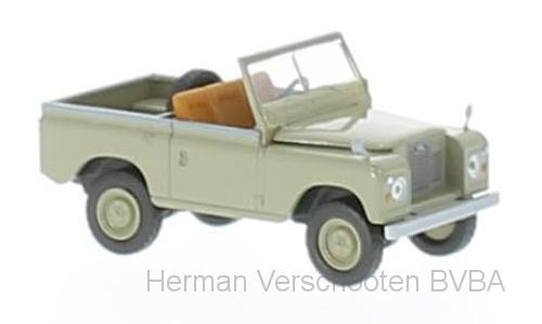 13852  Land Rover 88, gelbgrau, Brekina
