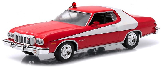 "84042    1976 Ford Gran Torino ""Starsky & Hutch"", Greenlight"