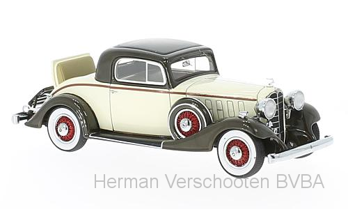 46775    Buick Series 66 S Sport Coupé, beige/donkerbruin, Neoscale Models