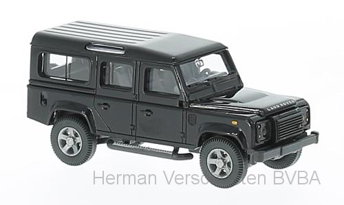 10201    Land Rover Defender 110, zwart, Wiking