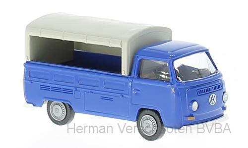 31603    VW T2 Pick-Up, blauw, Wiking