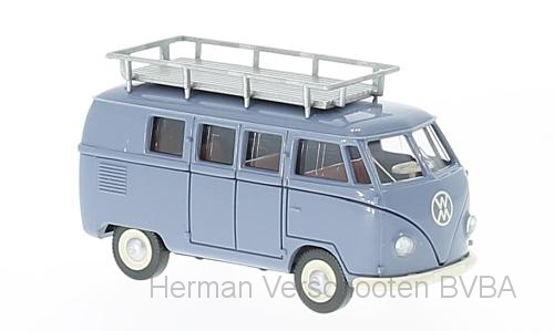 78810  VW T1 (Typ 2) Bus, blauwgrijs, Wiking