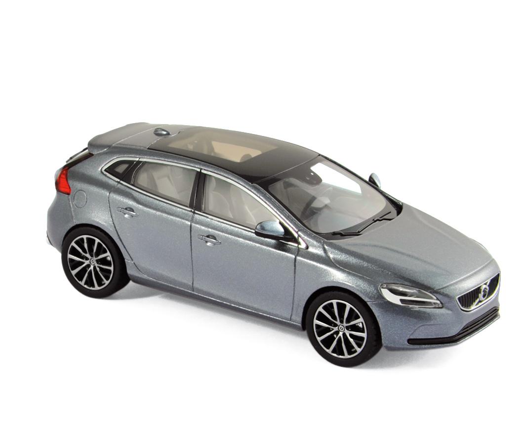 870006  Volvo V40 2016, Osmium Grey, Norev