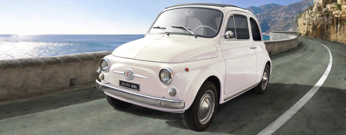 4703 Fiat 500F 1968, Italeri