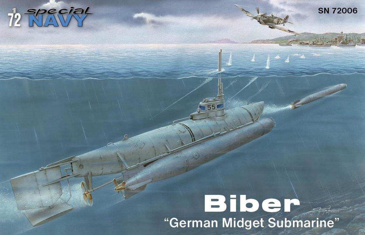 "72006    Biber ""German Midget Submarine"", Special Navy"