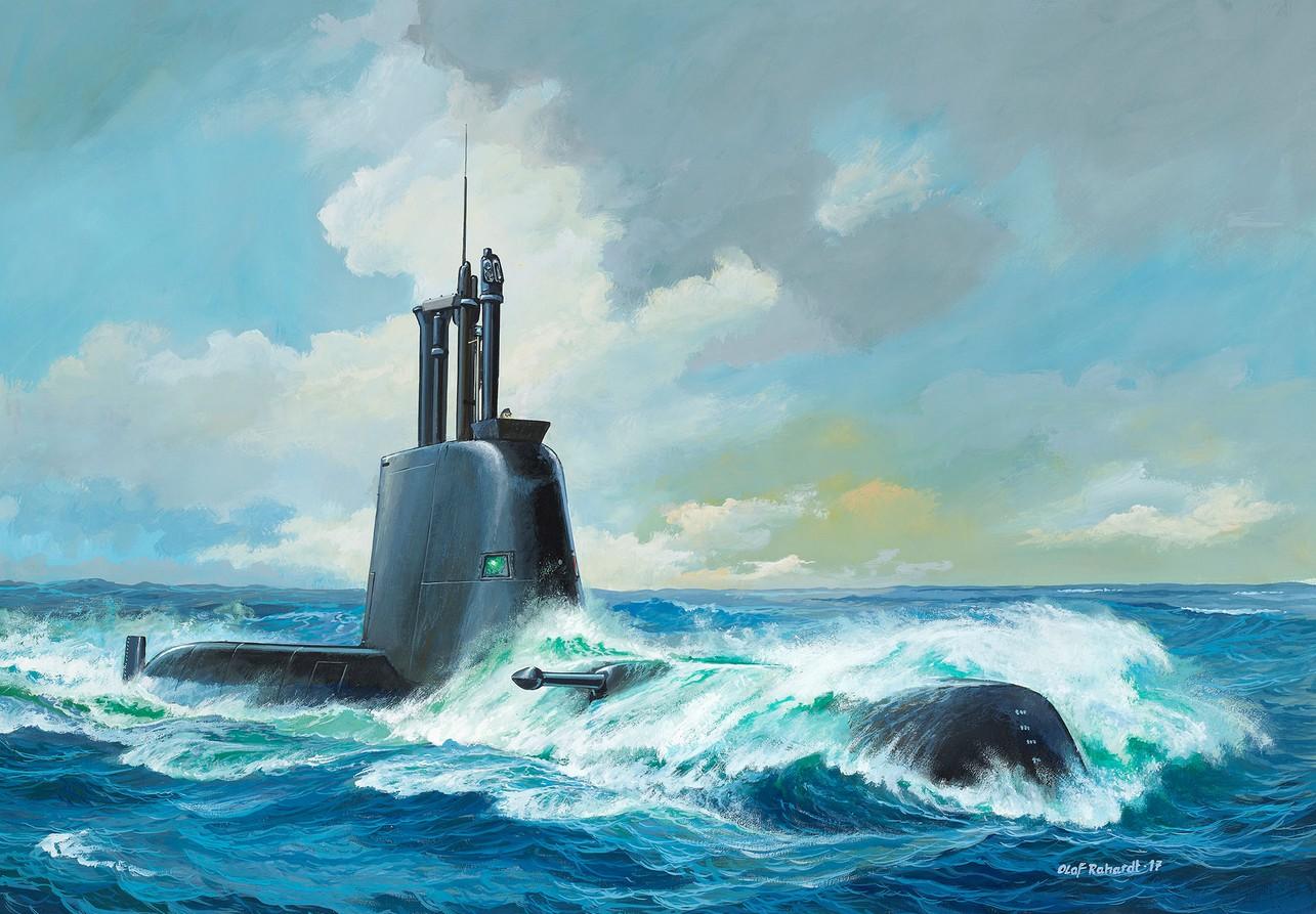 5153  Submarine Class 214, Revell