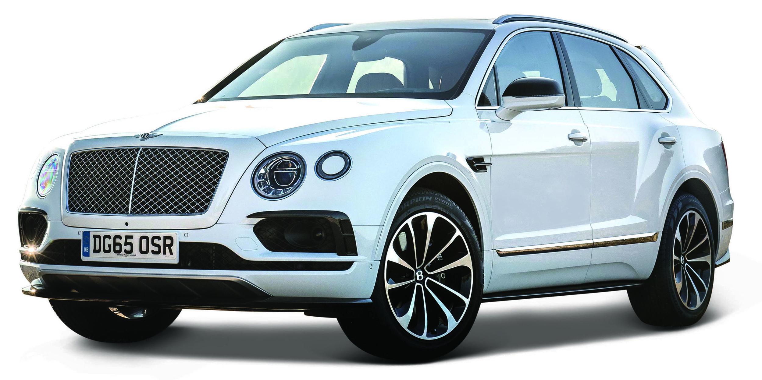 18-30384W  Bentley Bentayga, wit, Bburago