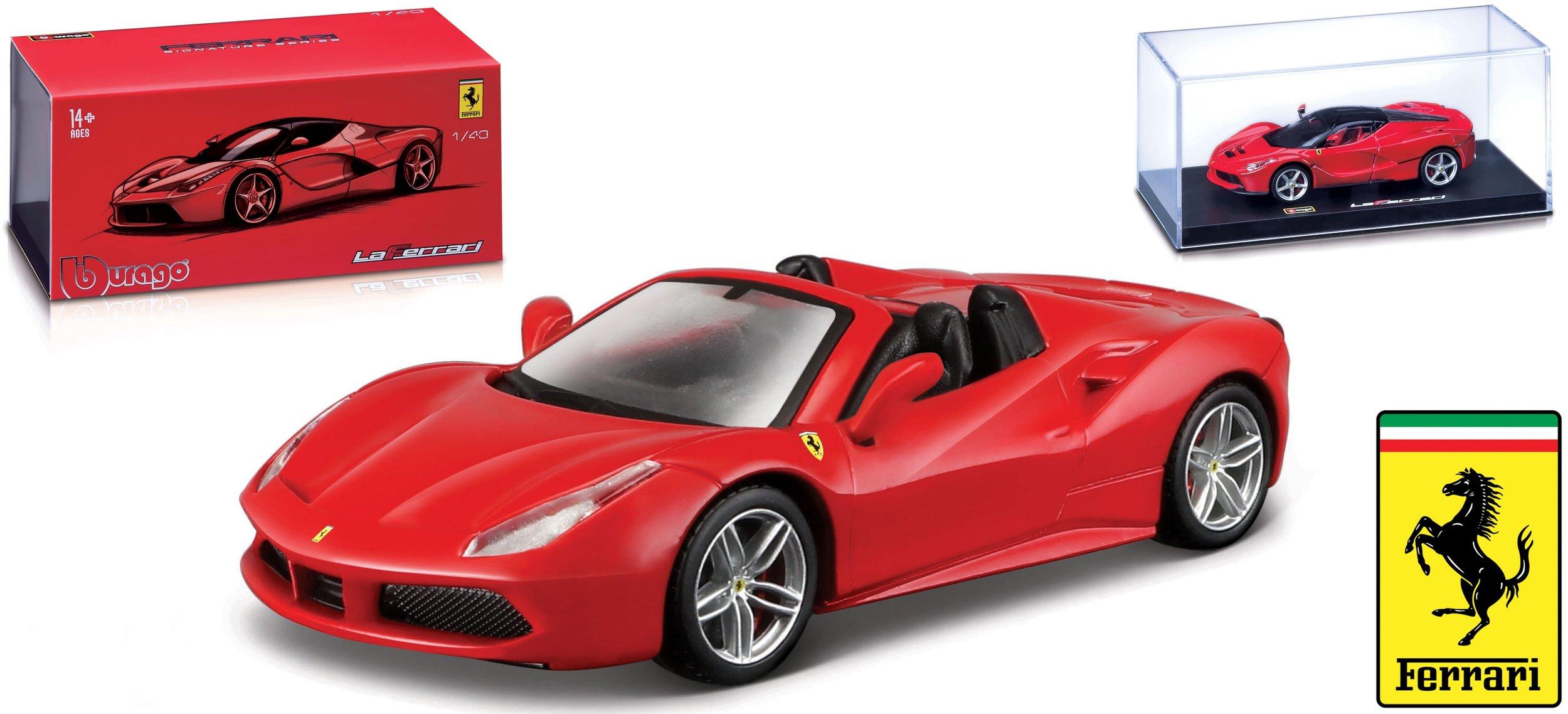 18-36905  Ferrari 488 Spider, Bburago