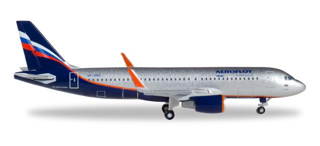 "530644  Airbus A320 ""Aeroflot"", Herpa Wings"