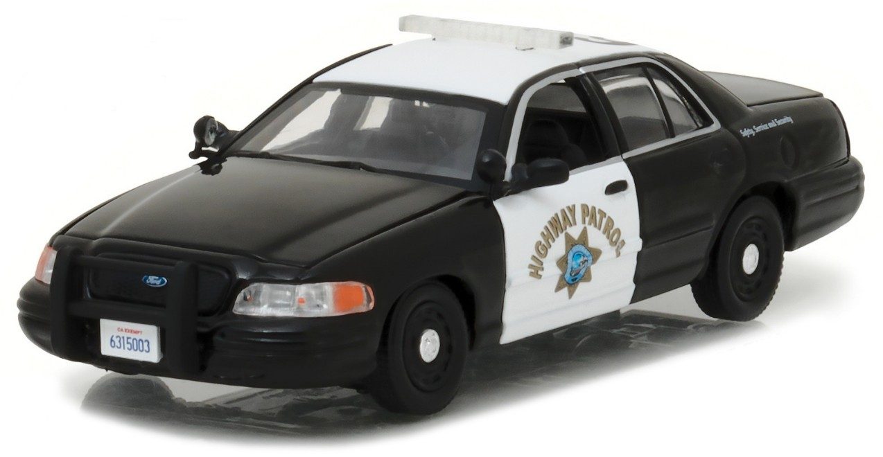 86086    Ford Crown Victoria Police Interceptor, Greenlight